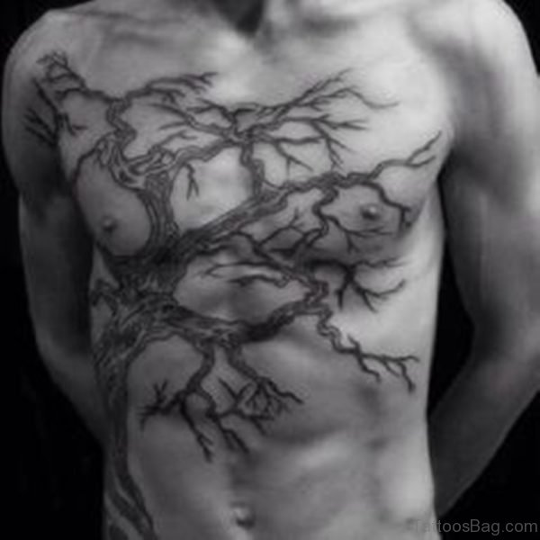 Nice Looking Tree Tattoo