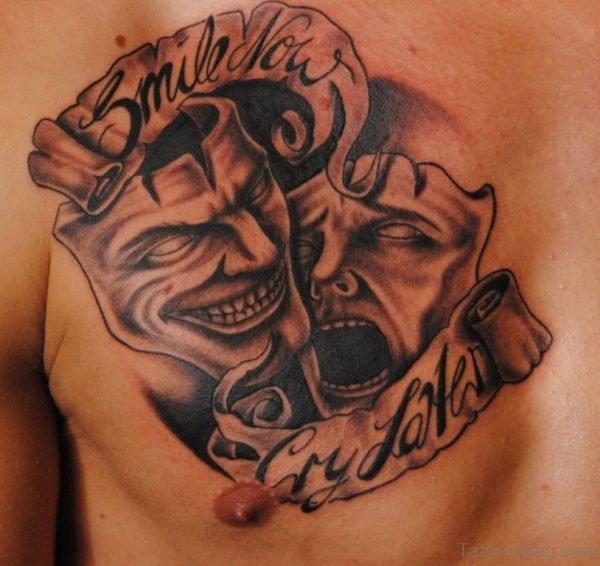 Nice Mask Tattoo