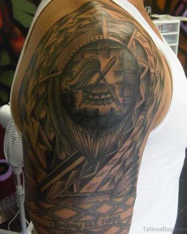 Classic Shoulder Tattoo