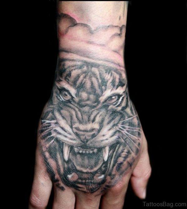 Nice Tiger Tattoo