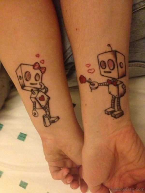 Nice Wrist Tattoo TD12083 TB104