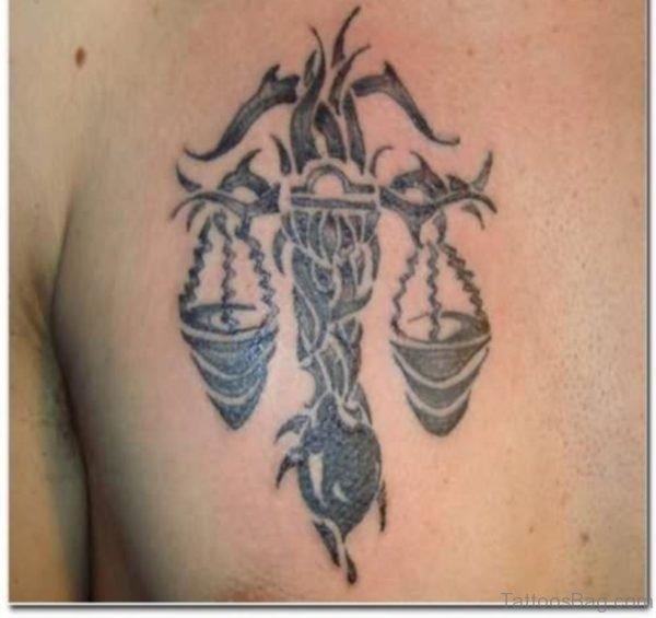 Nice Zodiac Tattoo