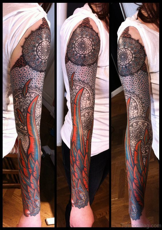 Nordic Full Sleeves Tattoo