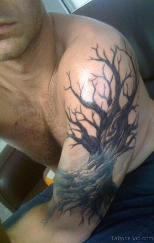 Oak Tree Tattoo