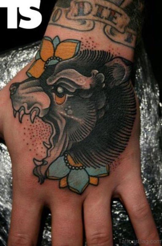 Old Bear Tattoo