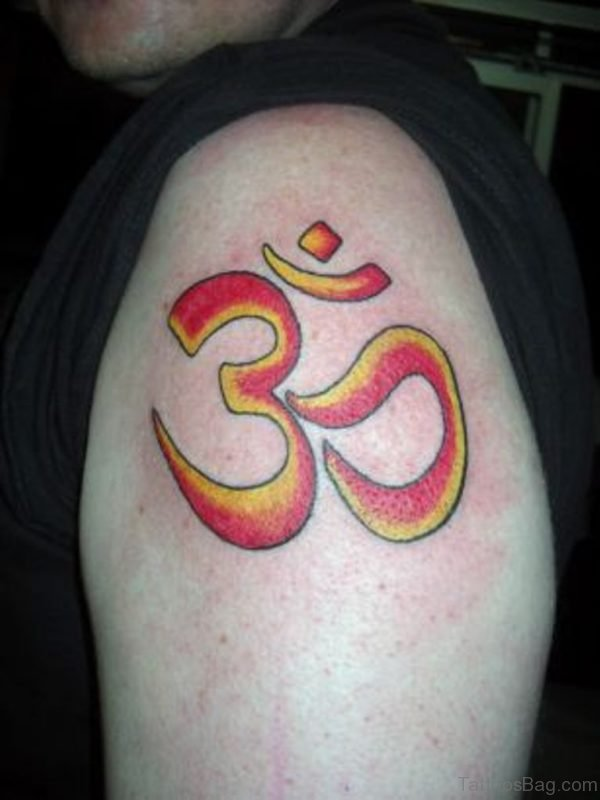 Om Symbol Image Tattoo