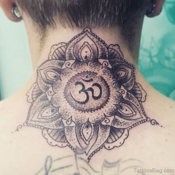 Om Tattoo In Mandala