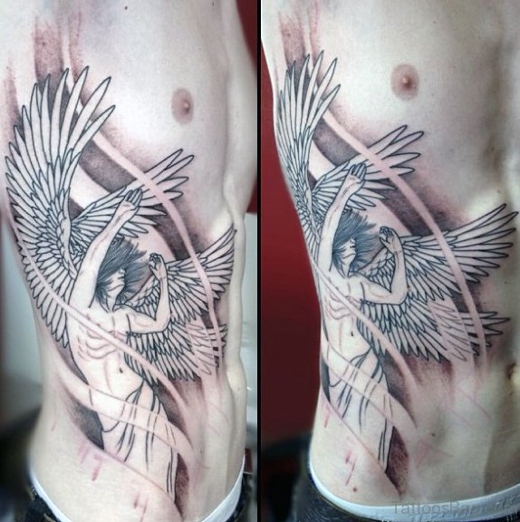 Outstanding Rib Tattoo
