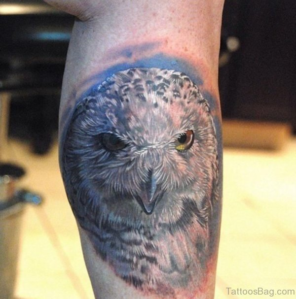 Owl Tattoo Design On Arm