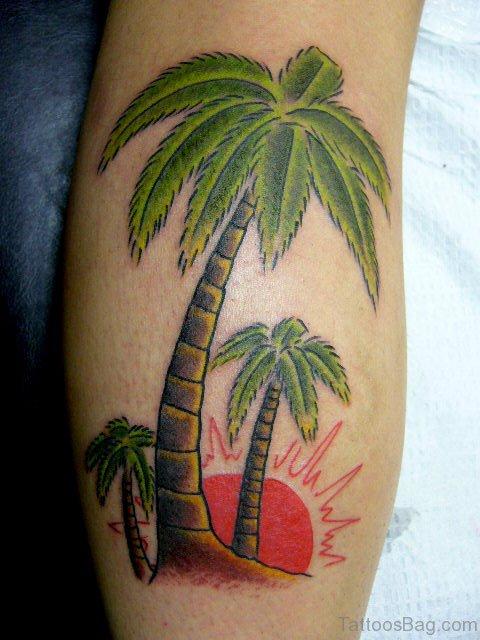 Palm Tattoo On Arm
