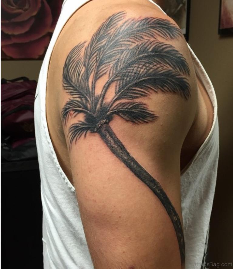 Palm Tree Tattoo Designs Foot