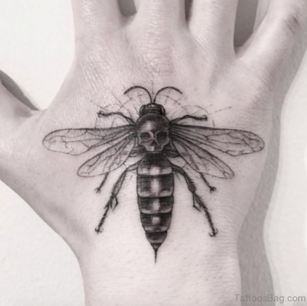 Perfect Bee Tattoo