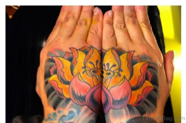 Perfect Lotus Tattoo