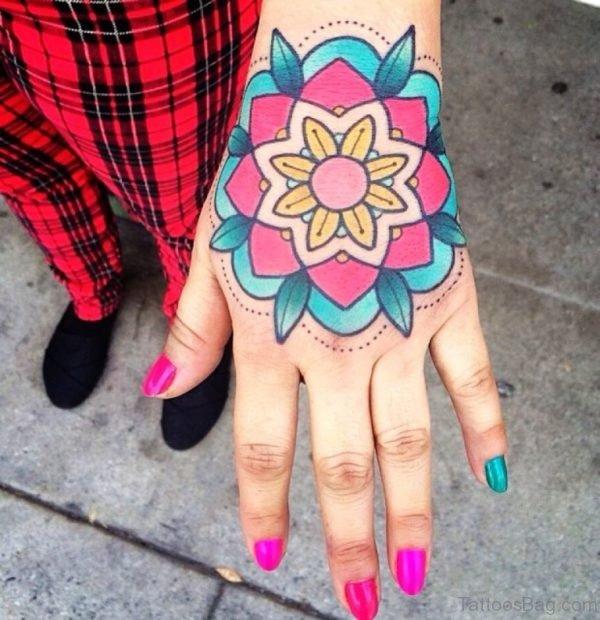 Perfect Mandala Tattoo