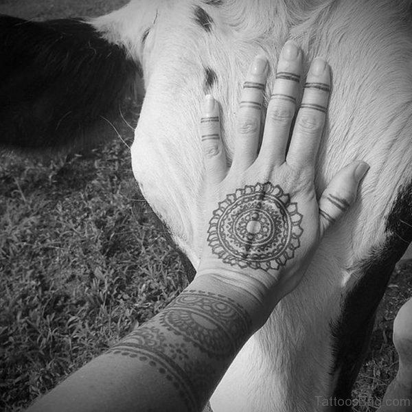 Perfect Mandala Tattoo Design On Hand