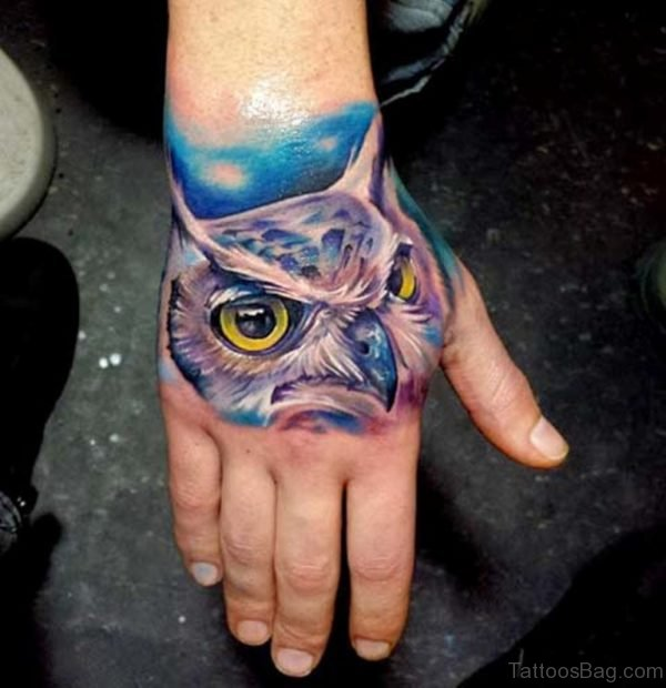 Perfect Owl Tattoo