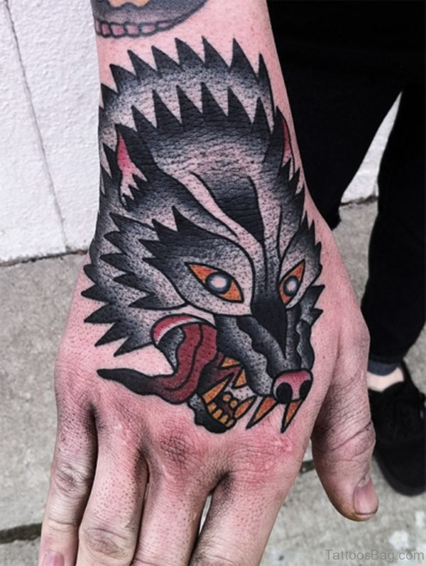 Perfect Wolf Tattoo