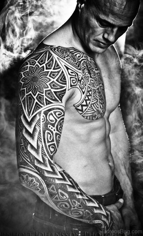 Phenomenal Black Tattoo Design