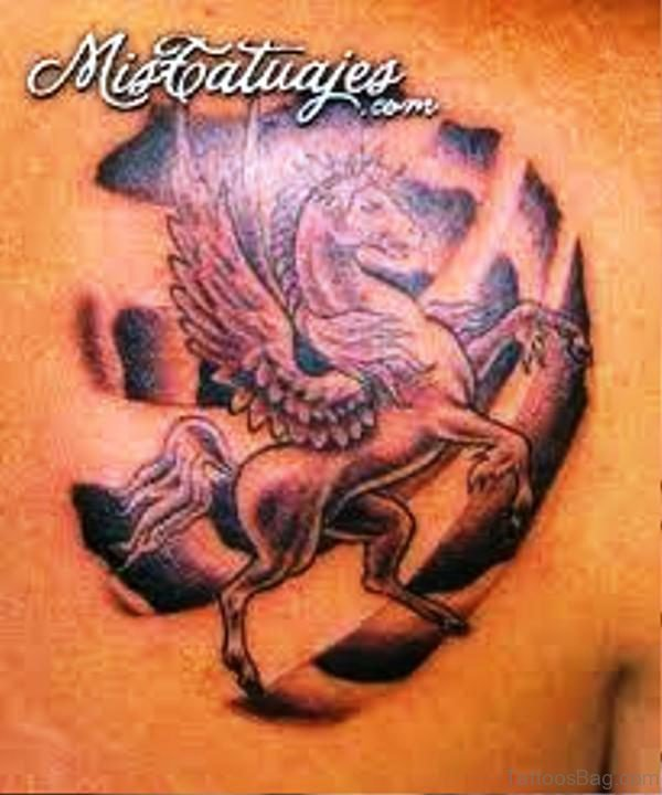 Picture Of Unicorn Tattoo
