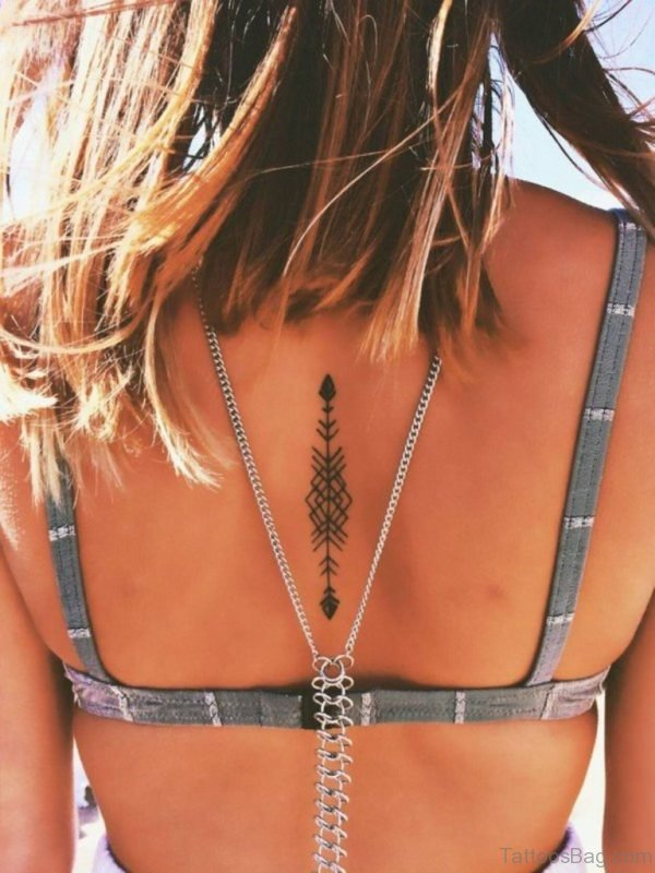 Pretty Arrow Tattoo