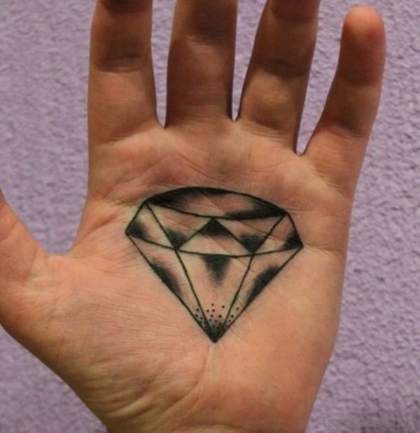 Pretty Diamond Tattoo
