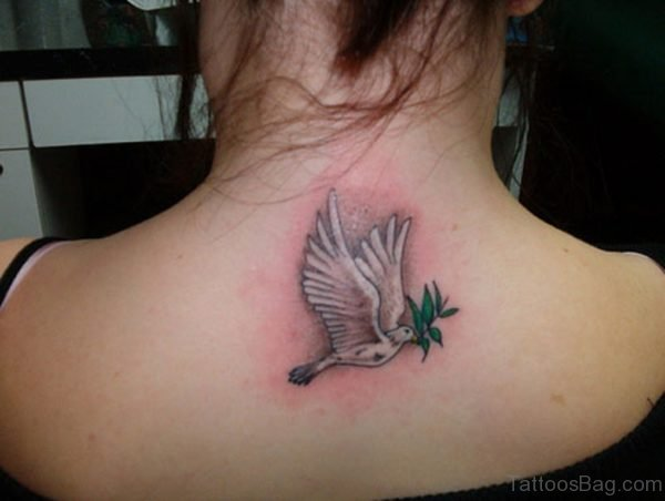 Pretty Dove Tattoo