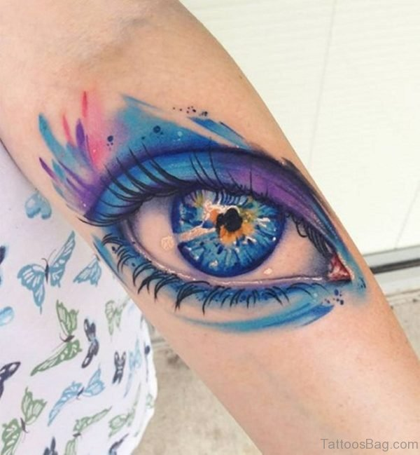 Pretty Eye Tattoo