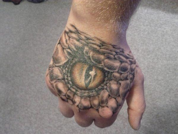 Pretty Eye Tattoo