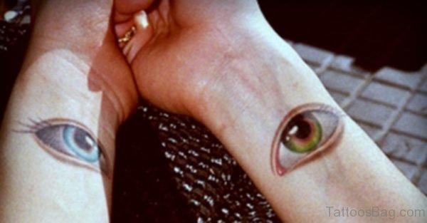 Pretty Eyes Tattoo