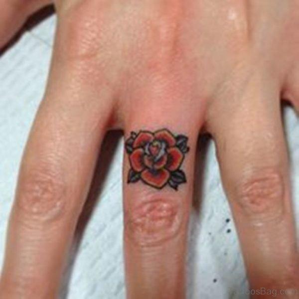 Pretty Flower Tattoo