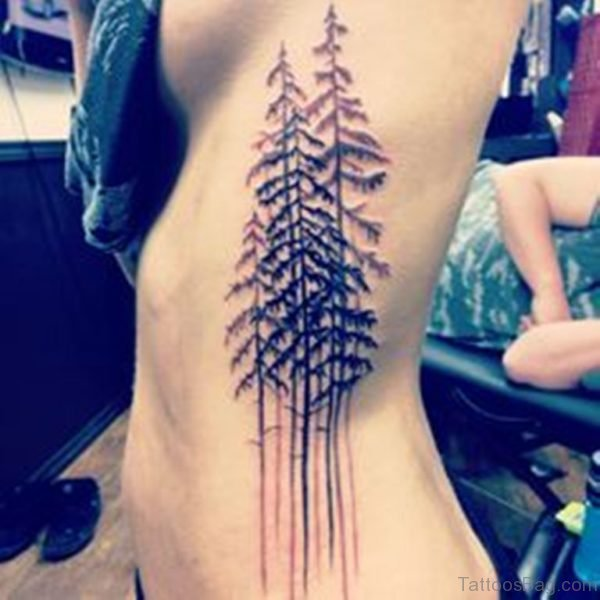 Pretty Tree Tattoo