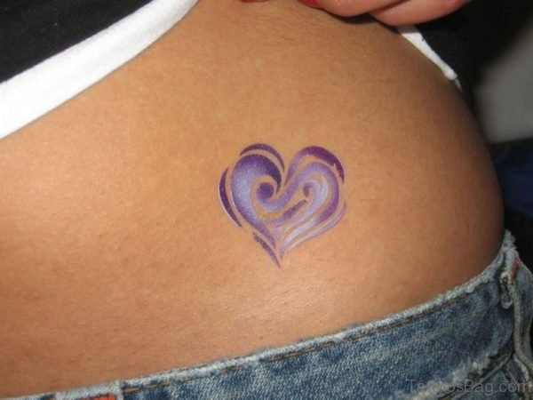 Purple Heart Tattoo