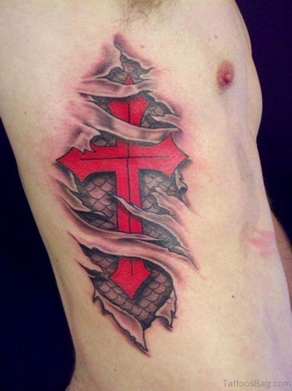 Red Cross Tattoo