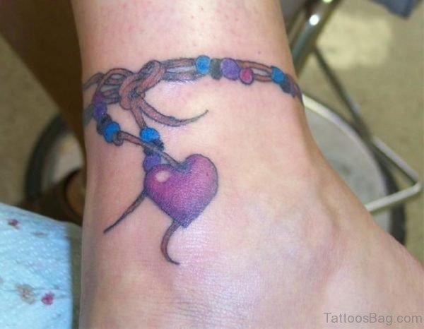 Rosary Heart Tattoo