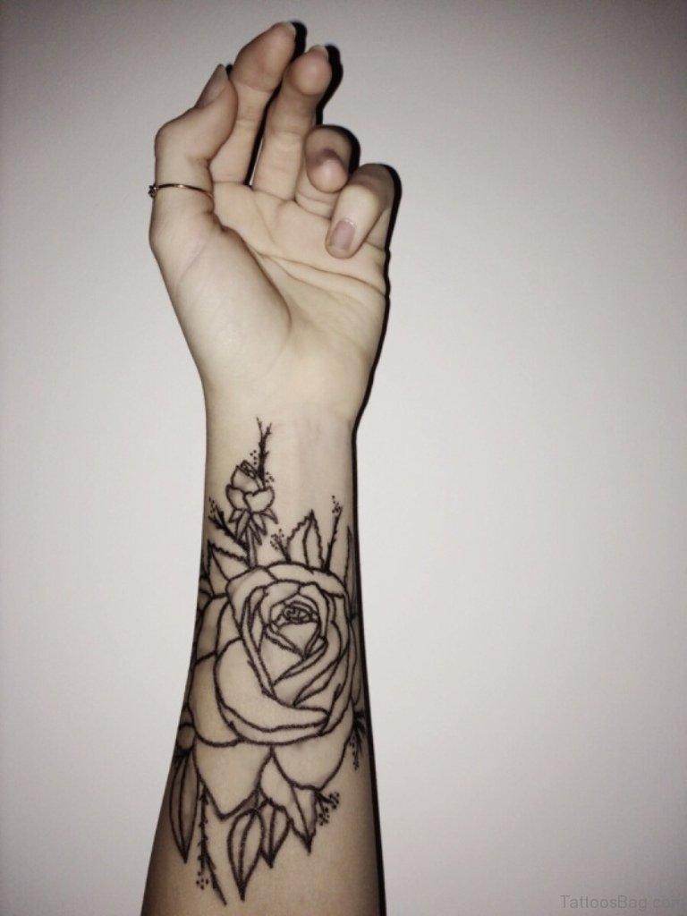 Cute Flower Tattoos On Wrist: 75 Cute Wrist Tattoos