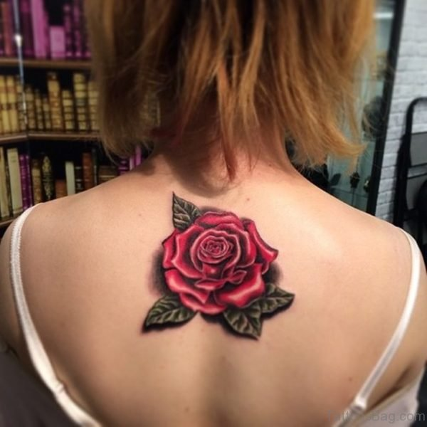 525a3387f 60 Graceful Flowers Tattoos On Upper Back