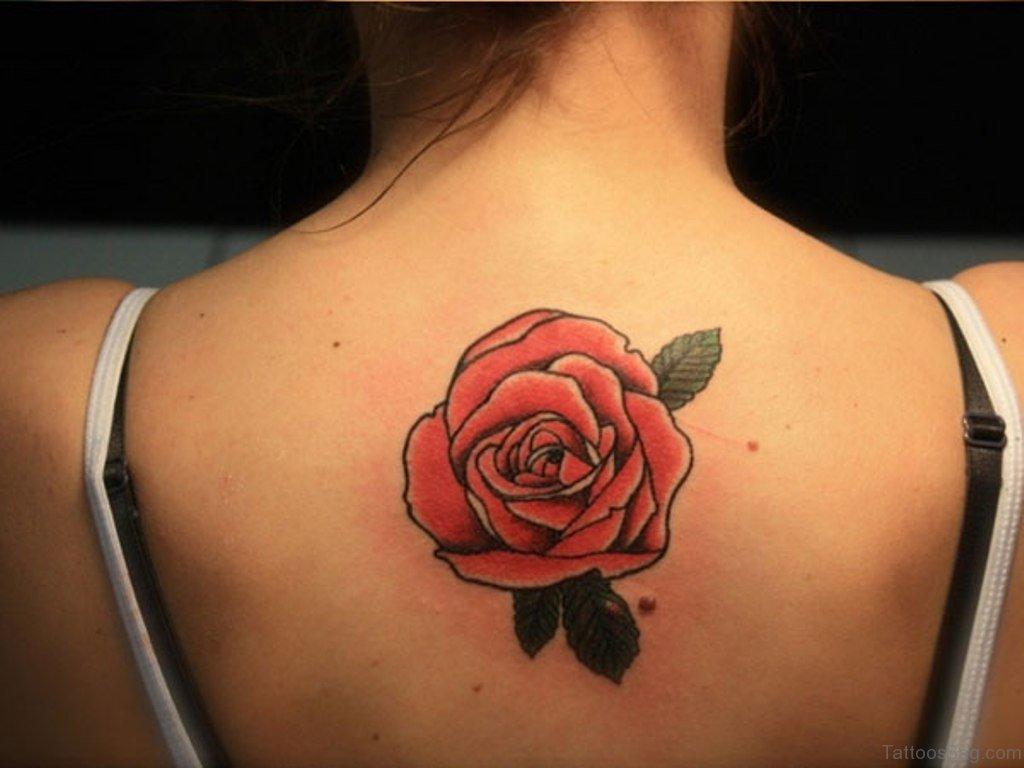 60 Graceful Flowers Tattoos On Upper Back