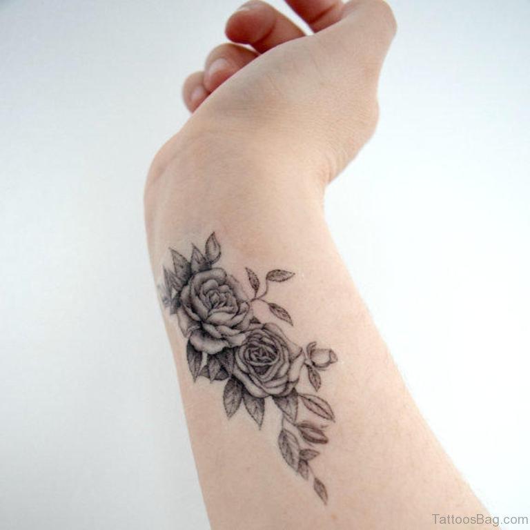 Rose Tattoo On Wrist: 75 Cute Wrist Tattoos