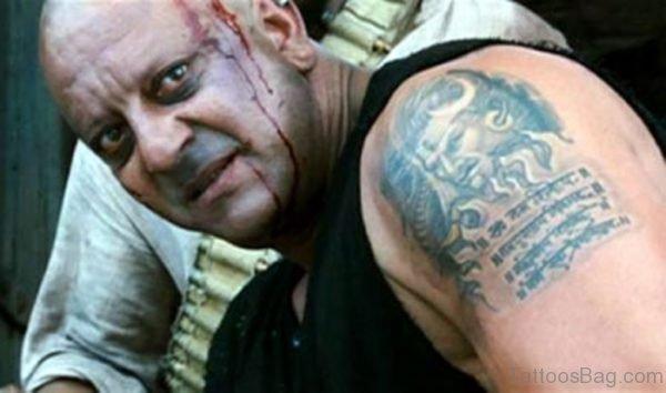 Sanjay Dutt Shiva Tattoo