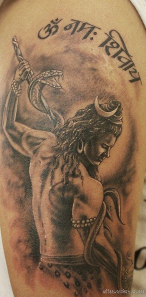 35 nice shiva tattoos on shoulder. Black Bedroom Furniture Sets. Home Design Ideas