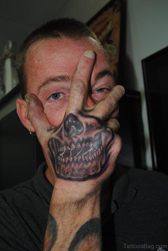 Skull Tattoo For Boys