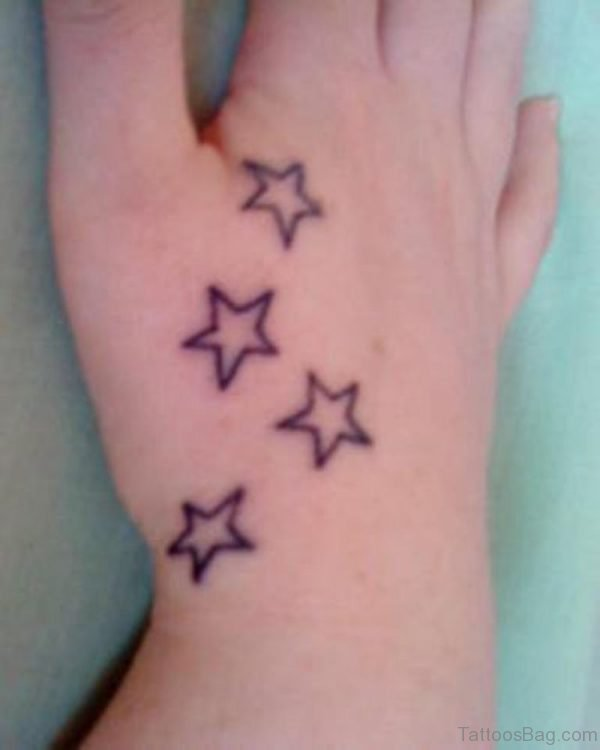 Small Star Tattoo