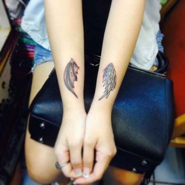 Small Wings Tattoo