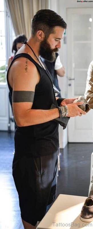 Solid Armband Tattoo