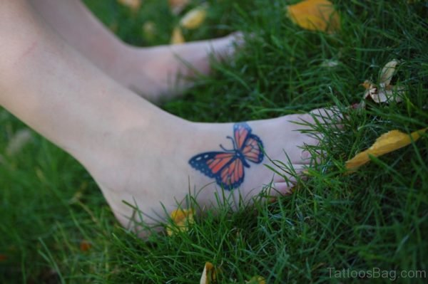 Speachless Butterfly Tattoo
