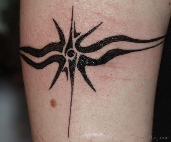Star Burst Armband Tattoo