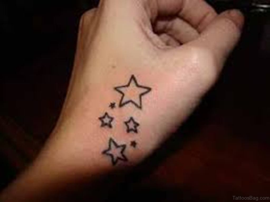 29 Star Tattoos On Hand