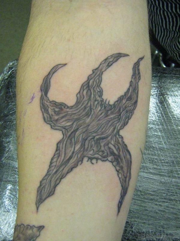 Starfish Tattoo Design On Arm