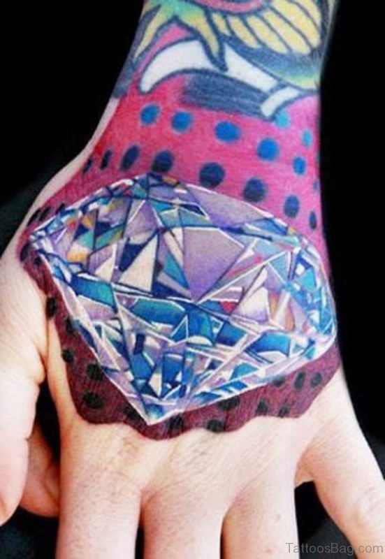 Stunning Diamond Tattoo