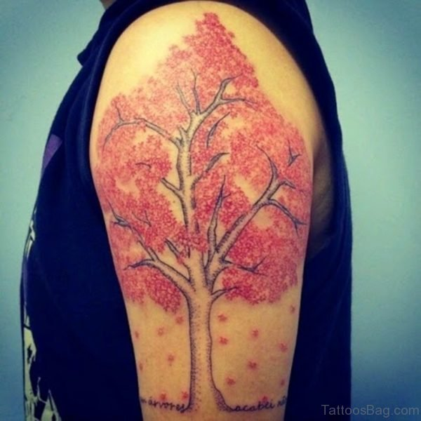 Stunning Tree Tattoo